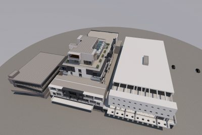 Warrnambool Serviced Apartments & Offices aerial view (1)